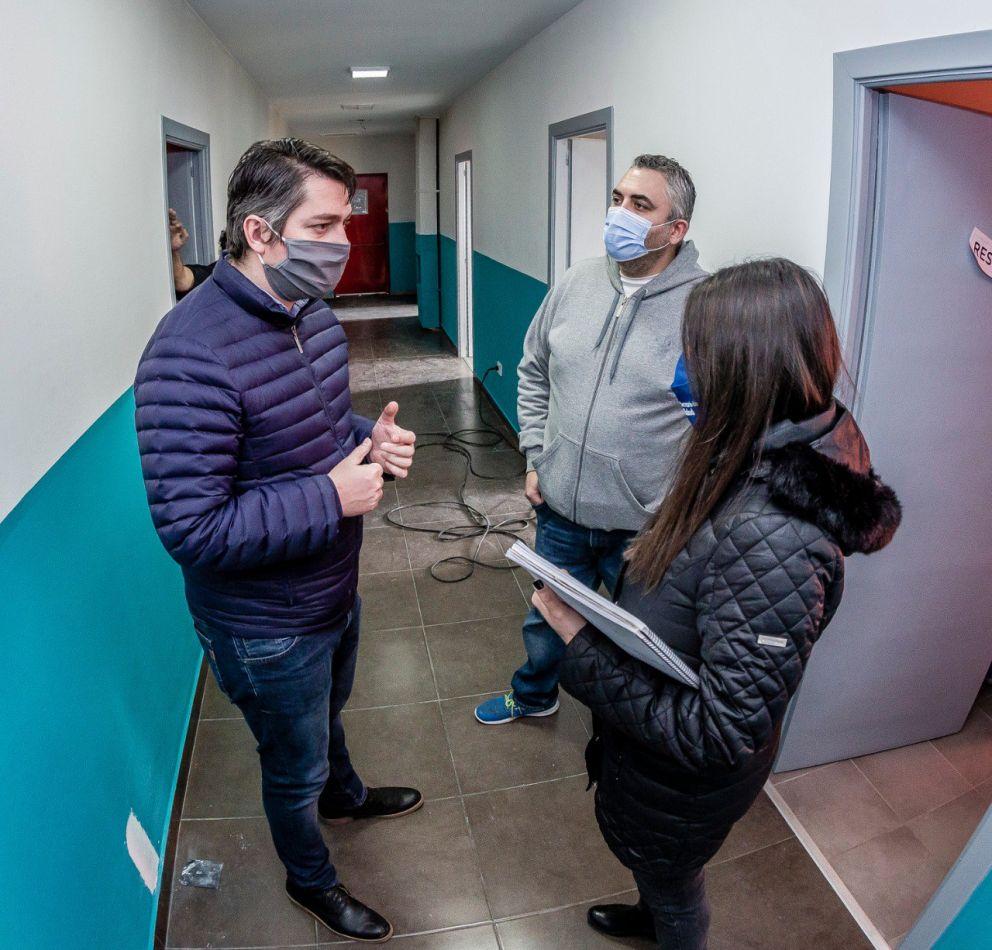 El Intendente Martín Perez, anunció la puesta en marcha del centro municipal para pacientes con Covid-19.