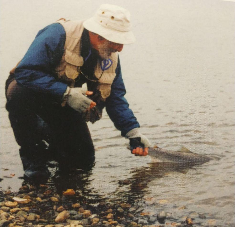 Asociación de pesca con mosca coordinan trabajos en conjunto con el municipio de Ushuaia