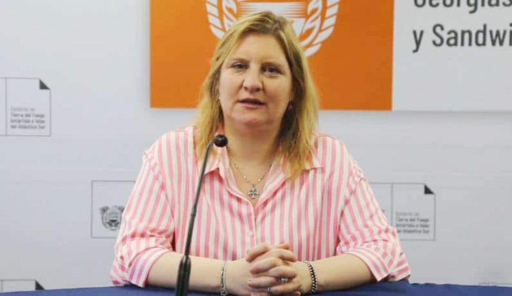 Judith Di Giglio, ministro de Salud de Tierra del Fuego.