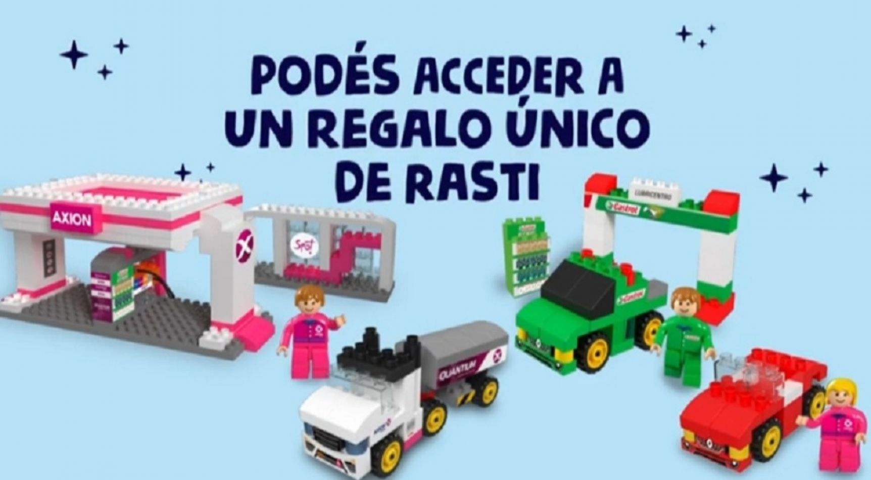 AXION Energy, junto a redACTIVOS y la fábrica de juguetes Rasti lanzaron una campaña para el mes del niño.