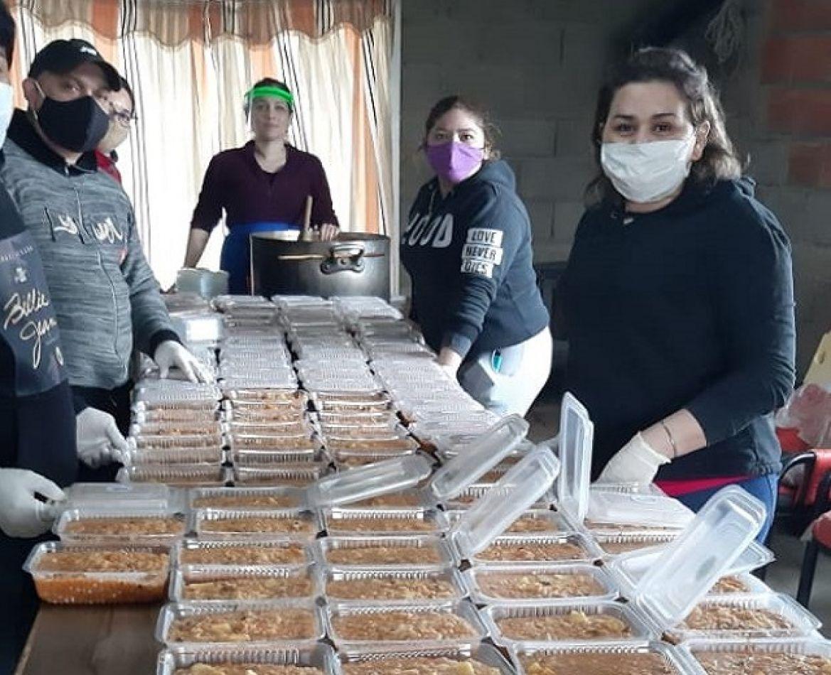Organización sin fines de lucro, logró entregar más de 200 viandas a familias necesitadas de Tolhuin.