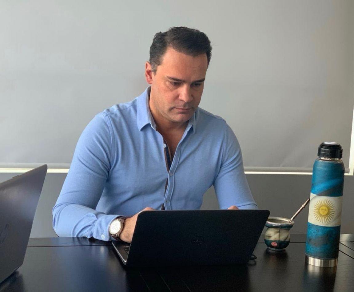 Subsecretario de Desarrollo Económico de la Municipalidad, Gustavo Ventura