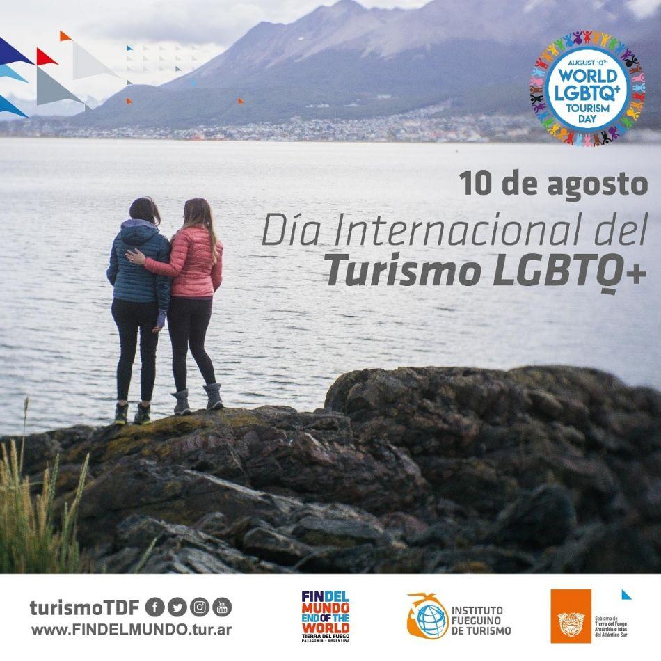 Tierra del Fuego celebra el Día del Turismo LGBTQ+