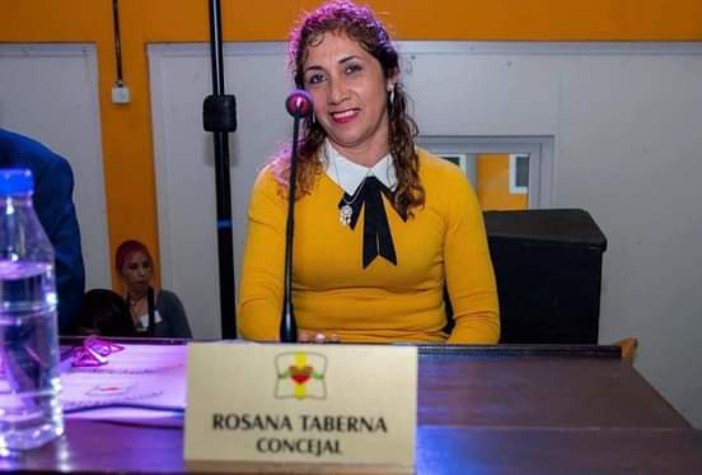 """La concejal Rosana Taberna quedó sola en el bloque """"Nuevo País"""" del Concejo Deliberante de Tolhuin."""