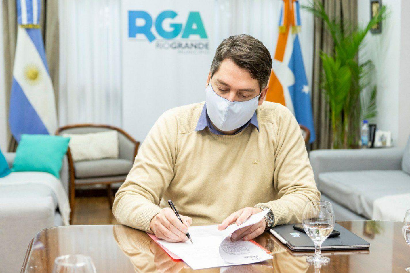 Intendente de Río Grande, Martín Perez.