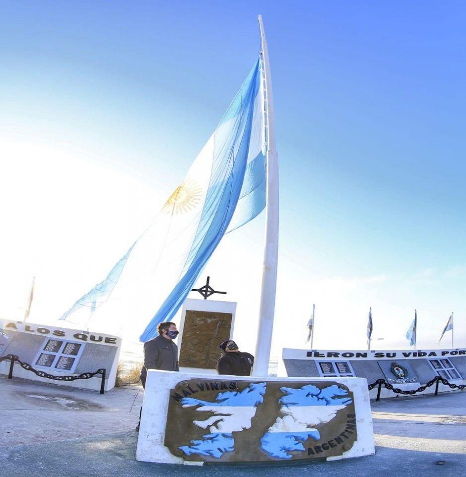 """""""Hoy tenemos un gobierno nacional que defiende la soberanía de Malvinas"""""""