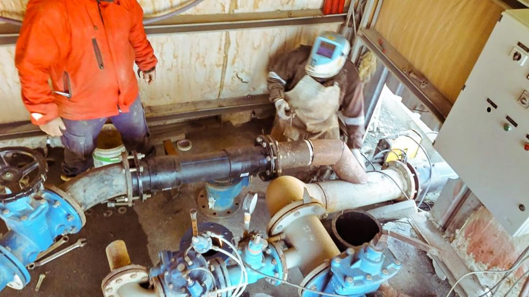 Dposs concretó nueva obra para mejorar la provisión de agua en Ushuaia