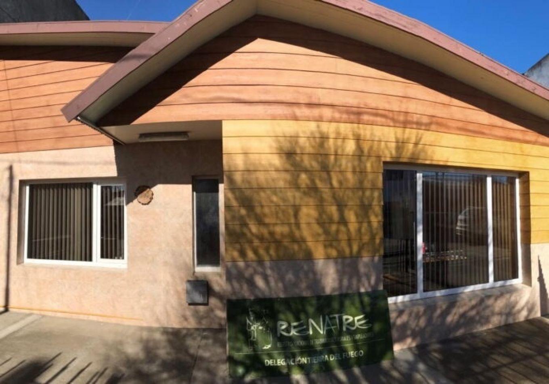 Nuevas oficinas de la Renatre en Lasserre 869 de Río Grande.