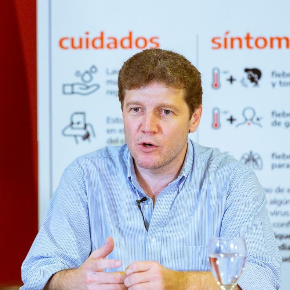 Gobernador de Tierra del Fuego, Gustavo Melella.