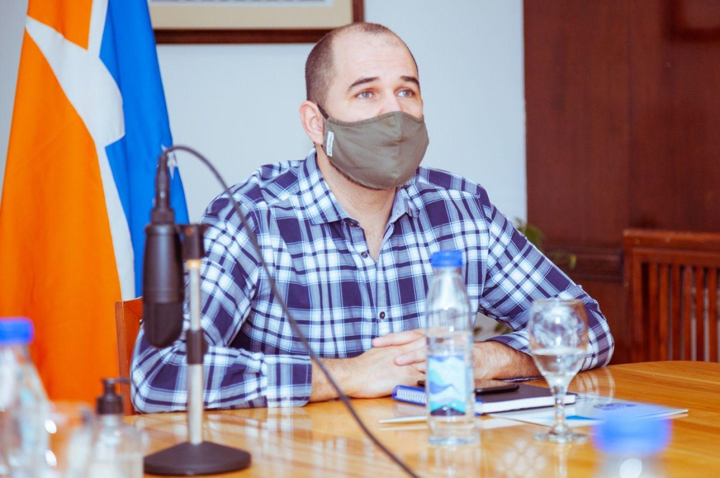 Ministro Jefe de Gabinete de Tierra del Fuego AIAS, Agustín Tita