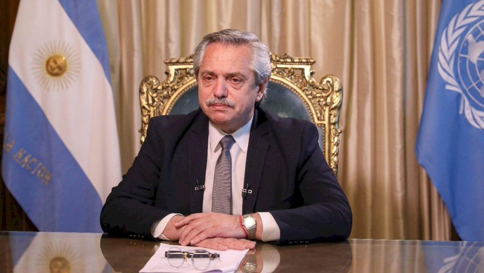 Presidente de la República Argentina, Alberto Fernández