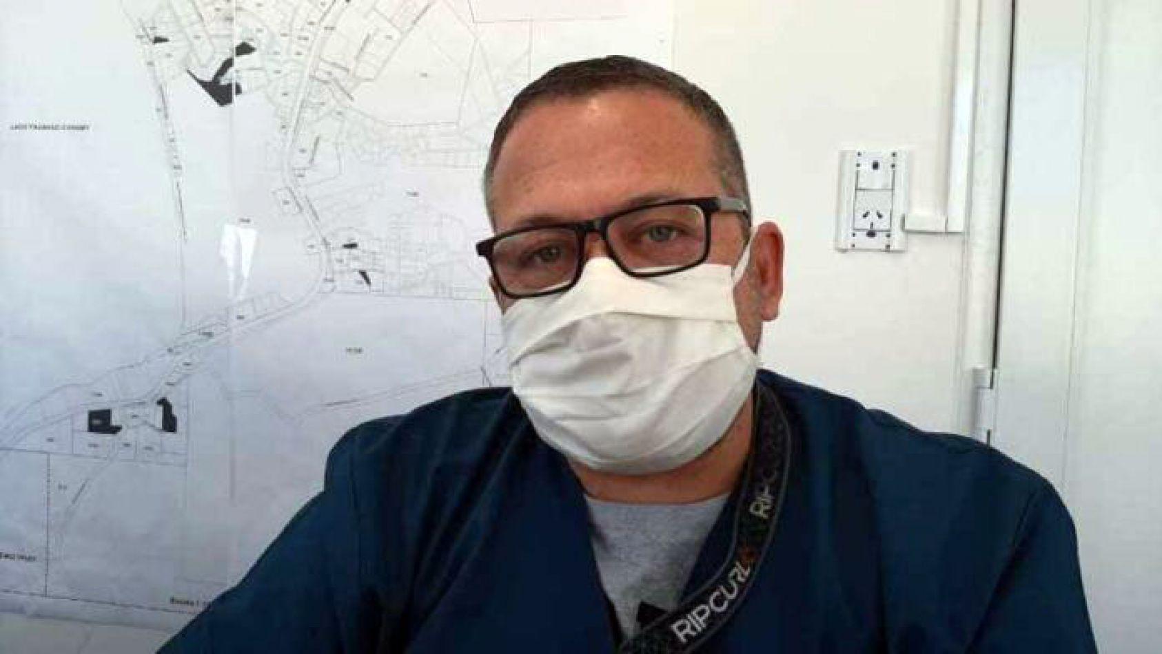 Sergio Alvarez director asistencial del CAT (Centro Asistencial Tolhuin)..