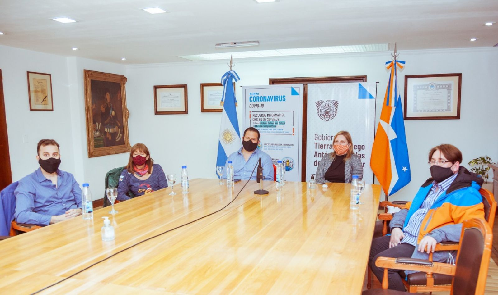 Di Giglio expuso la situación epidemiológica de Tierra del Fuego ante el Consejo Regional de Salud