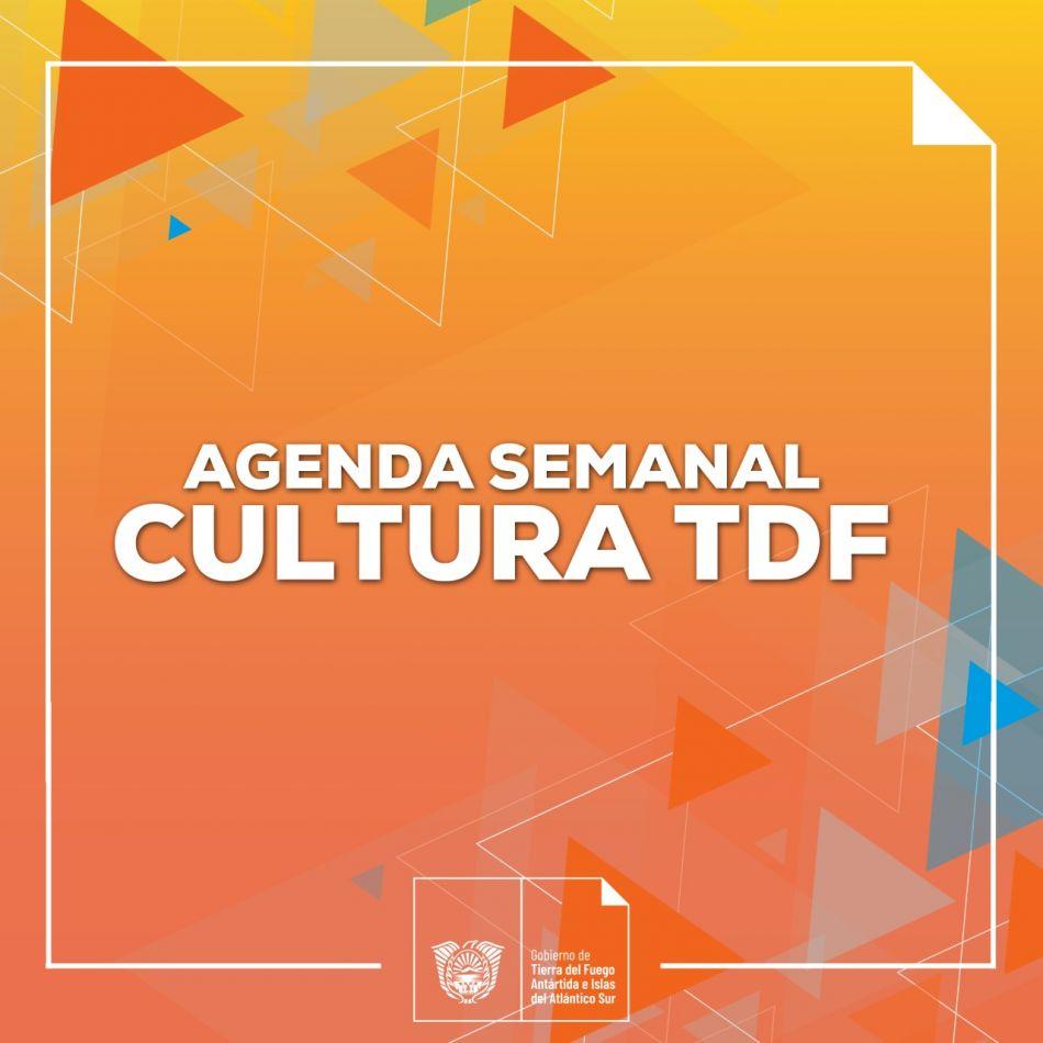 Agenda semanal Cultural TDF