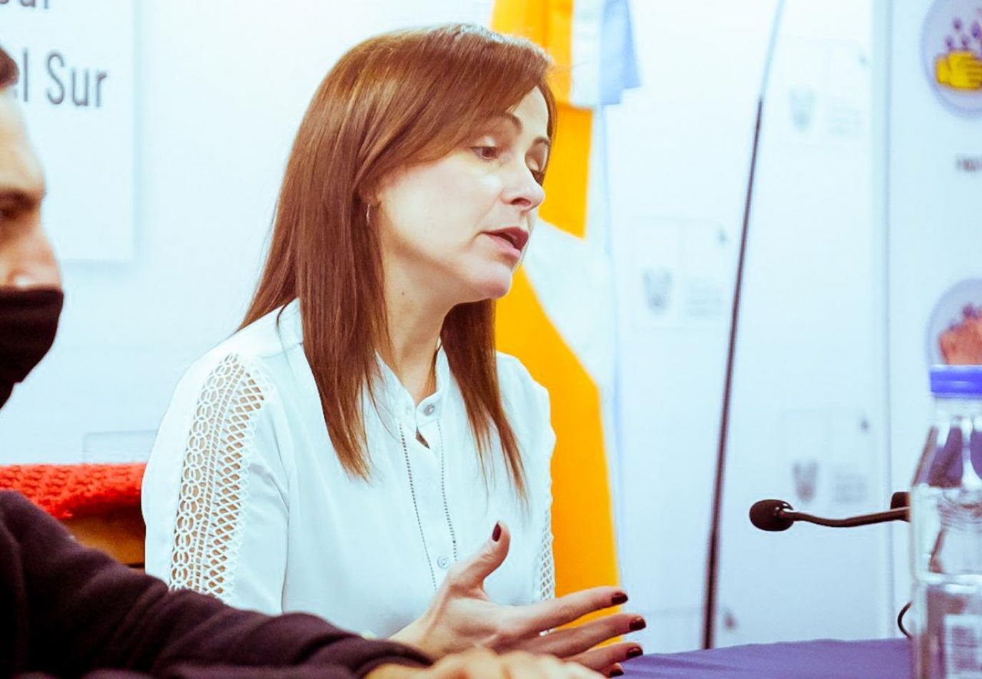 Directora de Promoción de la Salud, Marina Goyogana.