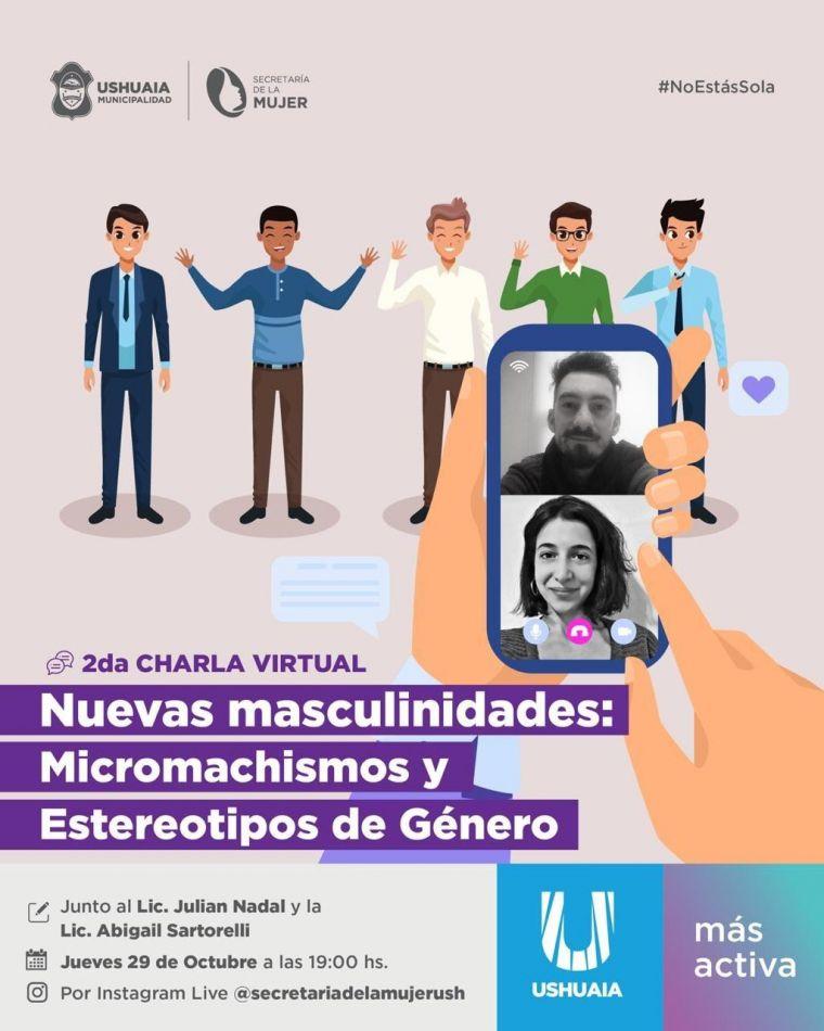 Charlas sobre nuevas Masculinidades y Perspectiva de Género