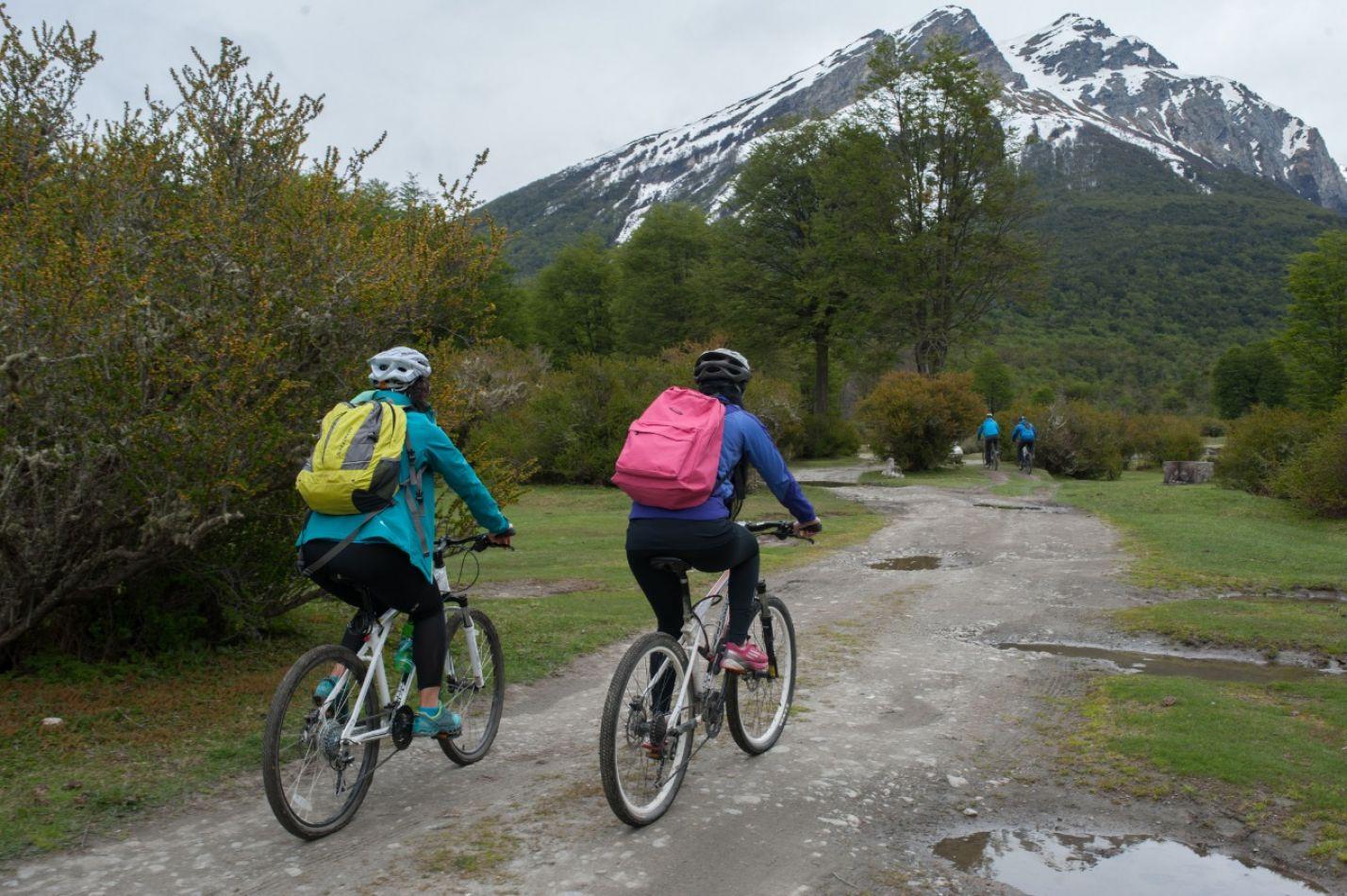 Concurso fotográfico Conociendo Tierra del Fuego en Bicicleta.