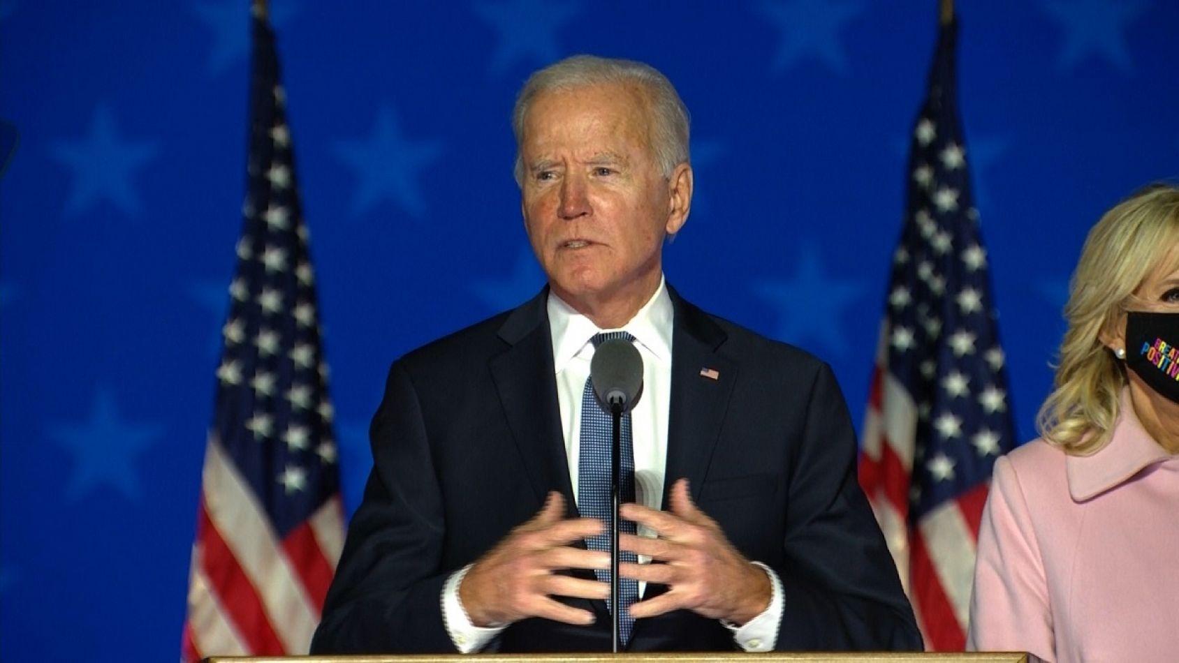 Joe Biden es el presidente electo de los EE.UU.