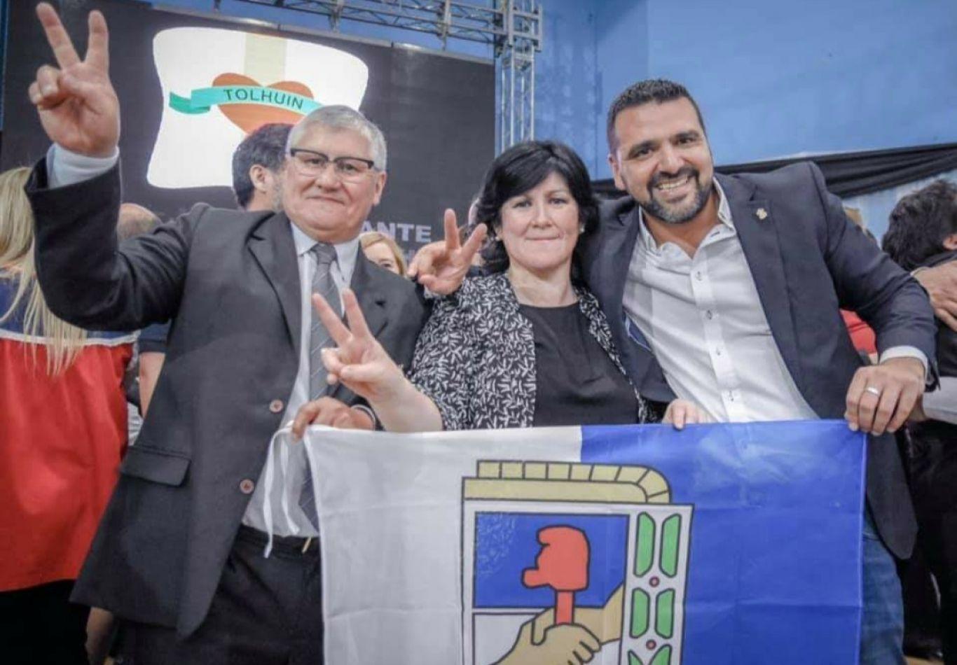 Jeanette Alderete, presidente del Concejo Deliberante de Tolhuin y flamante presidente de la Departamental.