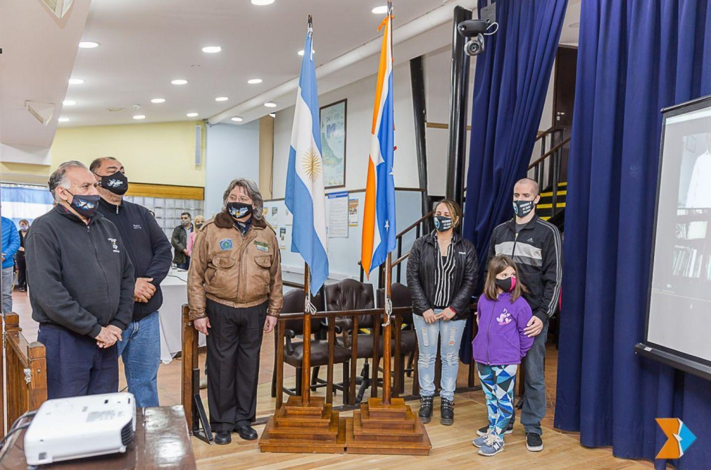 Vialidad provincial y la Federación de Bomberos pasaron por la Legislatura