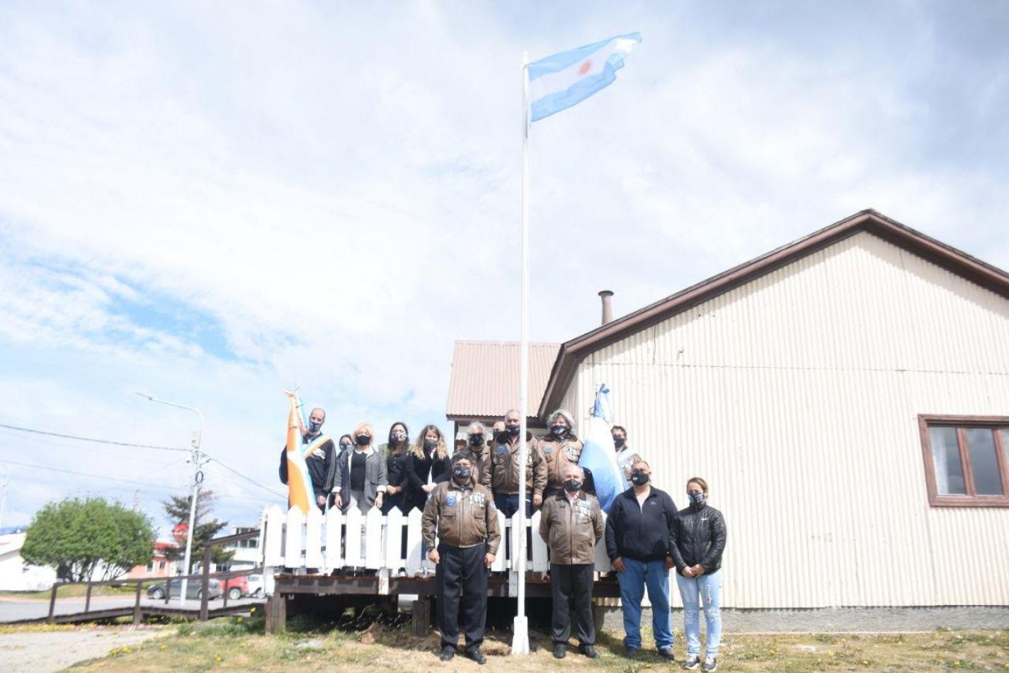 Ushuaia conmemoró el Día de la Soberanía Nacional
