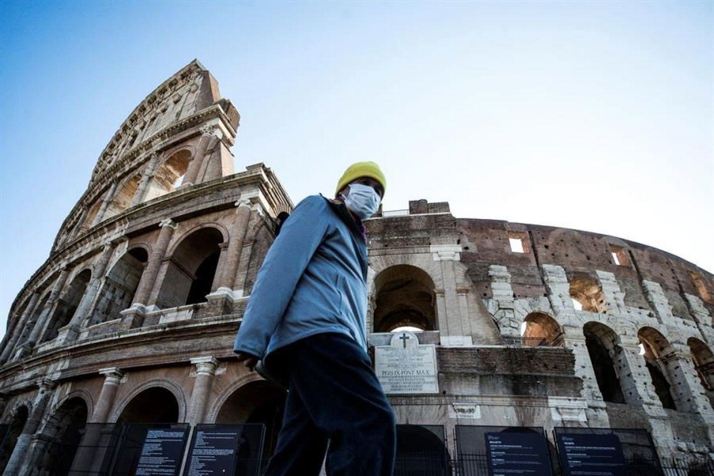 En Italia repuntó los números de fallecidos, más de 3800 en 7 días.