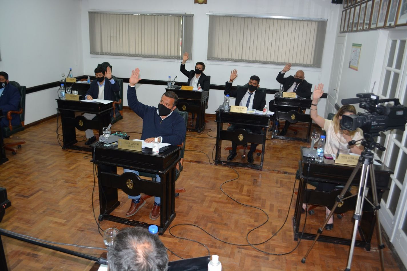 El Concejo Deliberante local celebró, hoy martes, la IX Sesión Ordinaria del año completando.