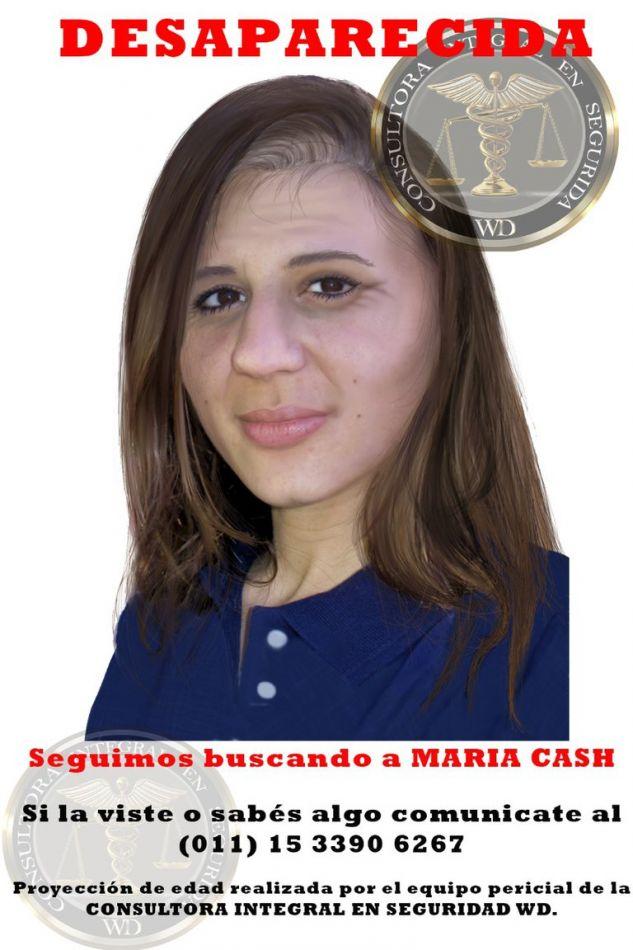 Esta es la nueva proyección de rostro realizada por Alberto Suárez, el mismo perito que dibujó la actualización de Sofía Herrera.