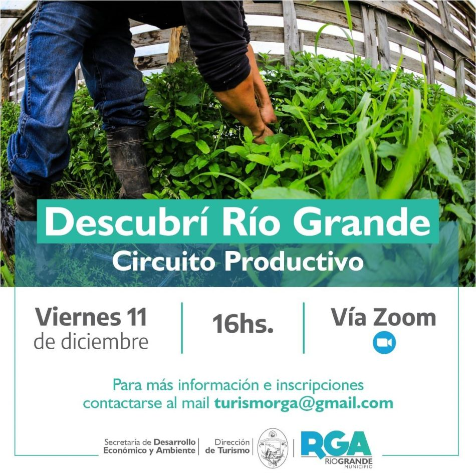"""Tercera edición del ciclo de encuentros """"Descubrí Río Grande"""""""