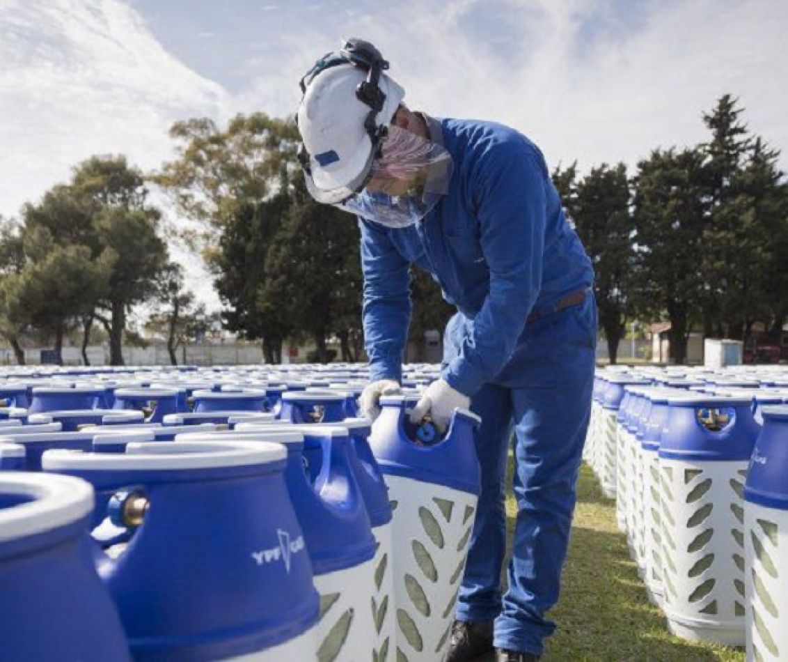 YPF lanza envase de gas 100% reciclable y 65% más liviano