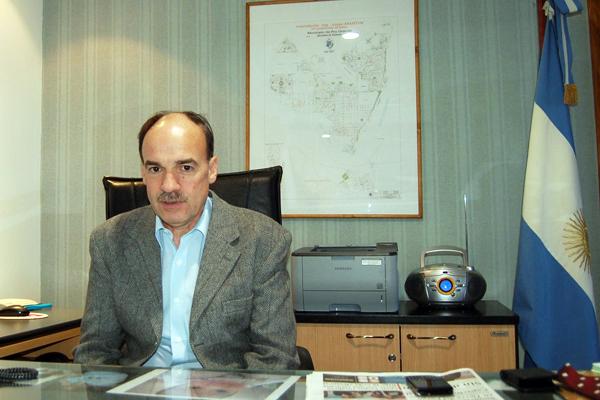 Secretario de Gobierno del Municipio de Río Grande, Pablo Blanco.
