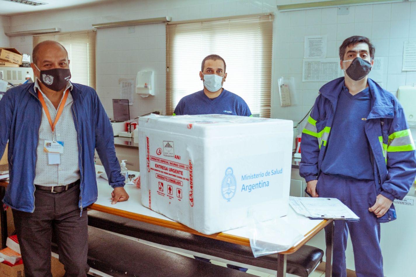 Tierra del Fuego recibirá esta semana la segunda remesa de 950 dosis de la vacuna Sputnik