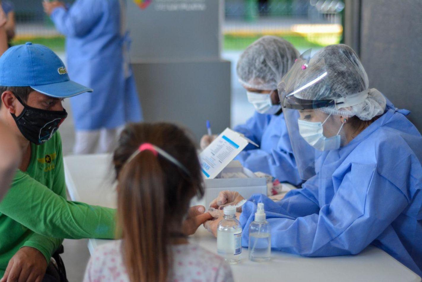 Tierra del Fuego tiene 608 casos de coronavirus activo