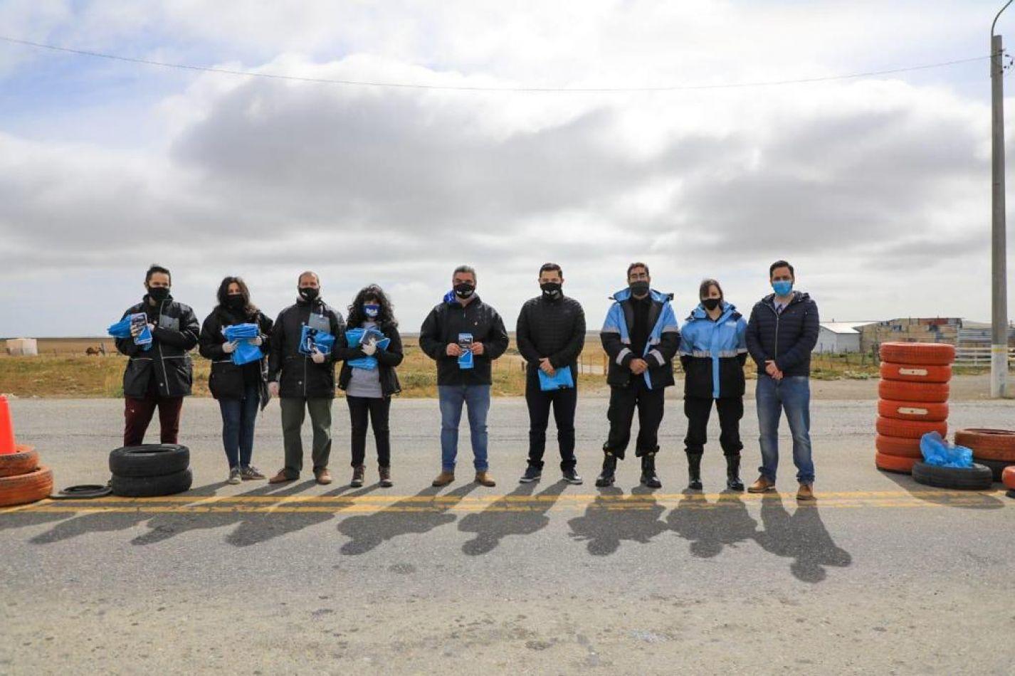 Al Operativo Vida se sumó la campaña para el cuidado ambiental