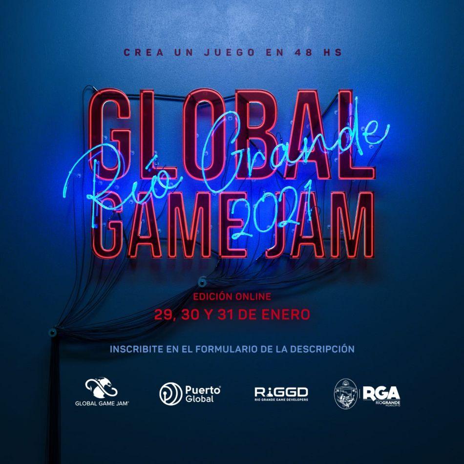 """Nueva edición de la """"Global Game Jam"""" en Río Grande"""