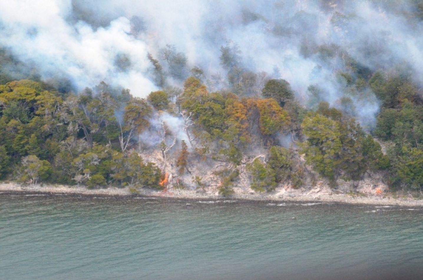 Incendio forestal en nuestra provincia.