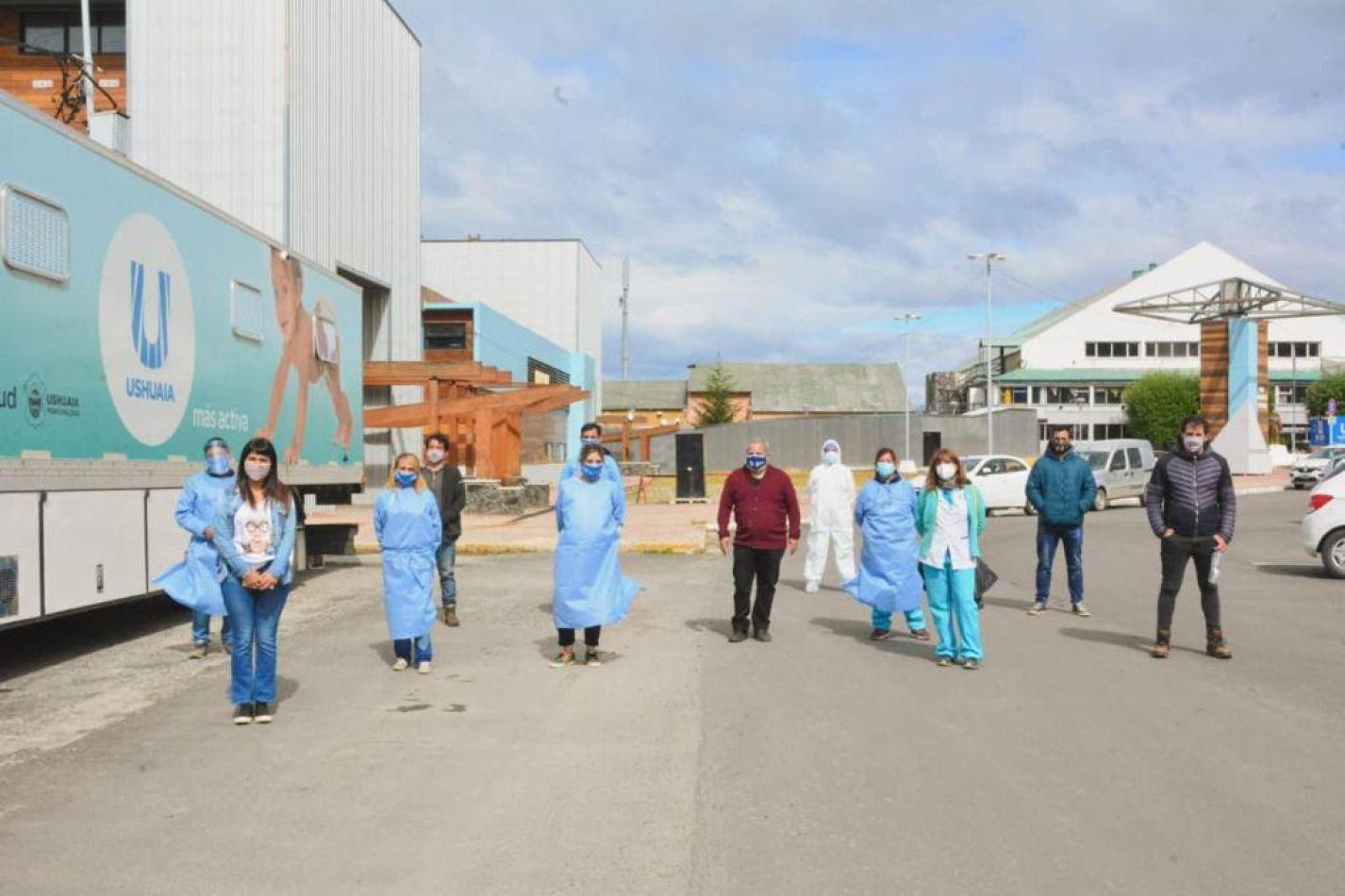 Se realizó el cuarto operativo de hisopados intensivos para la detección de COVID-19.