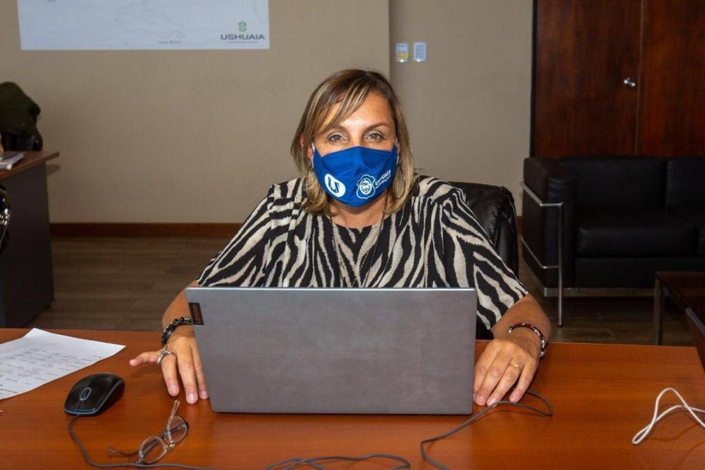Secretaria de Planificación e Inversión Pública, Dra.Gabriela Muñiz Siccardi.