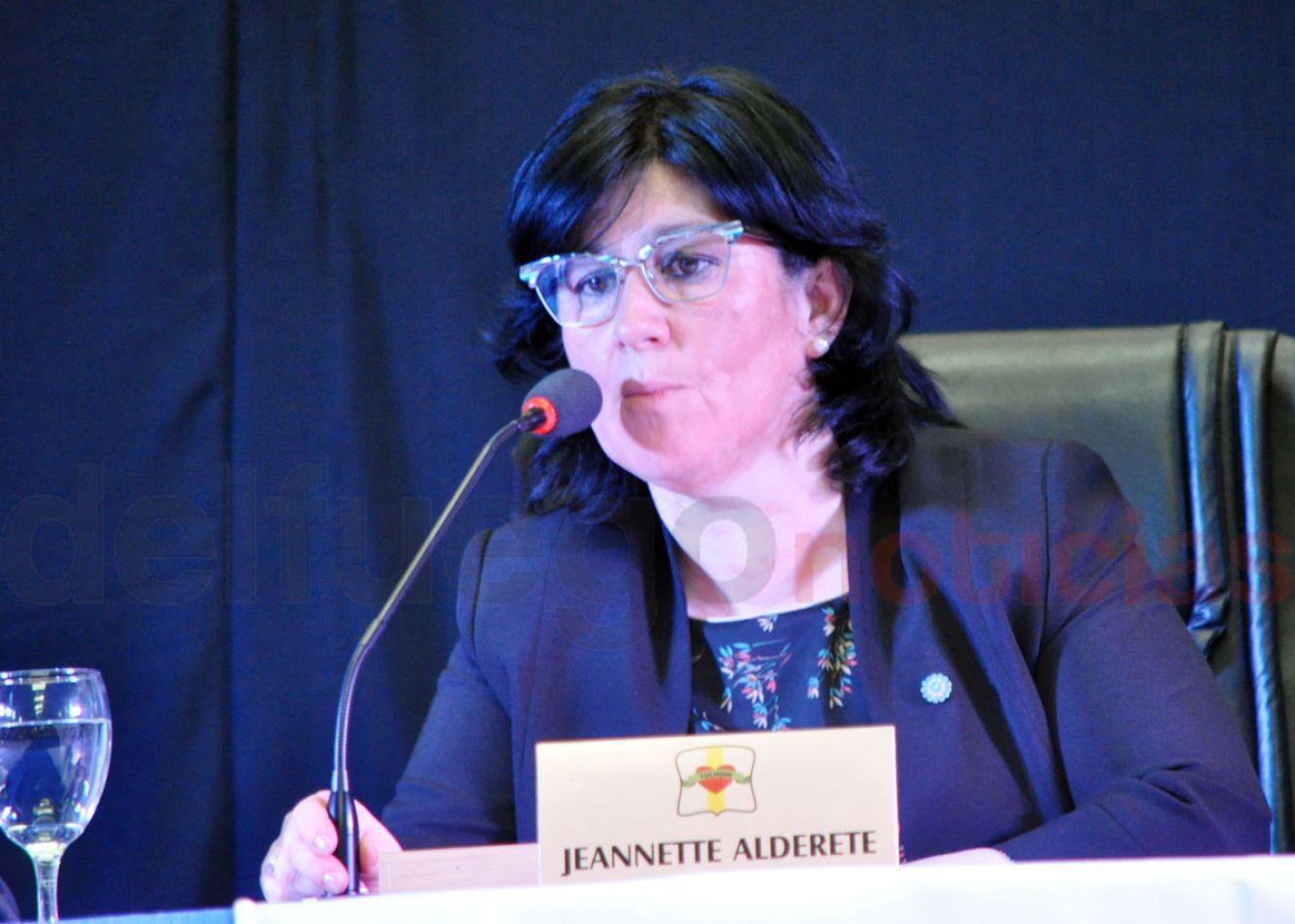 Jeannette Alderete sería elegida nuevamente presidente del Concejo Deliberante de Tolhuin.