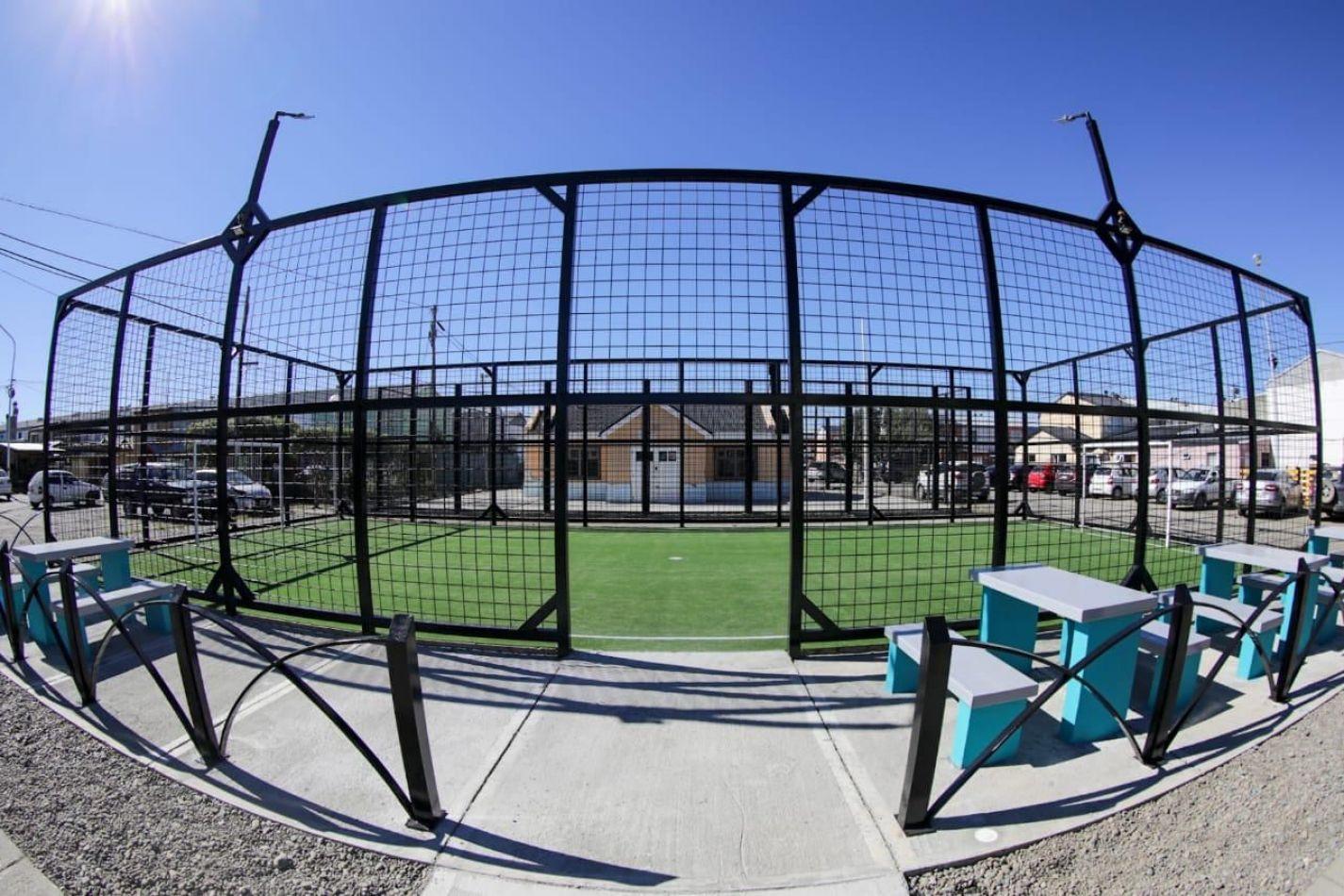 Quedó habilitado un nuevo espacio deportivo municipal en el B° Textil