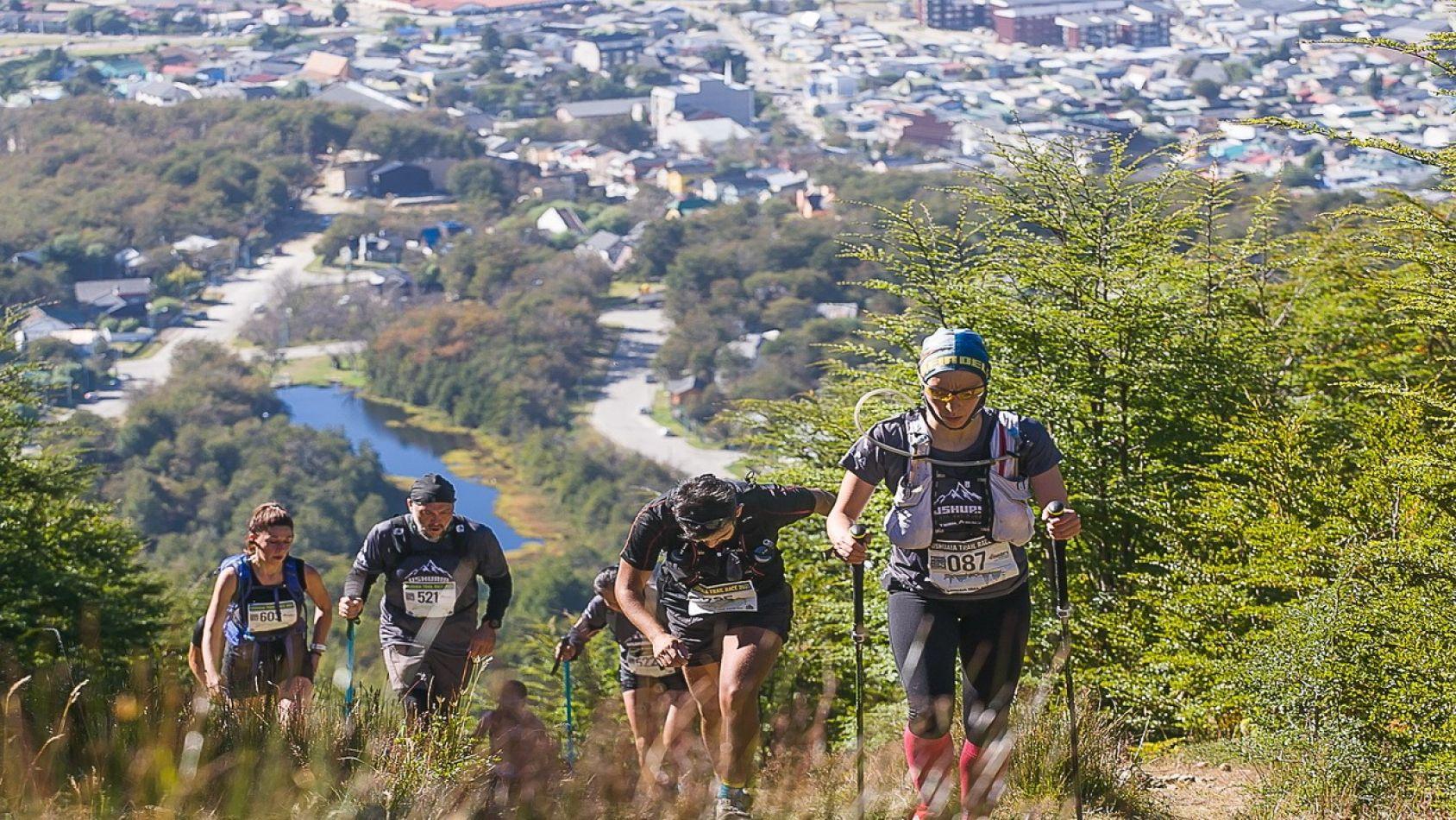 Atletas provinciales y nacionales se dieron cita en el Ushuaia Trail Race 2021