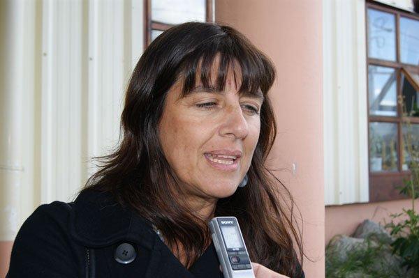 Ministro de Salud de Tierra del Fuego, María Grieco.