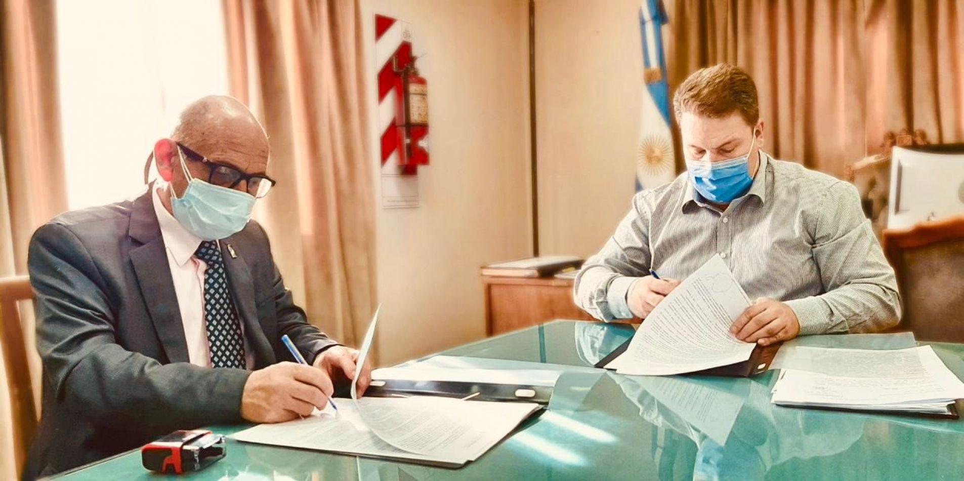 El Concejo Deliberante firmó convenio marco con la UNTDF