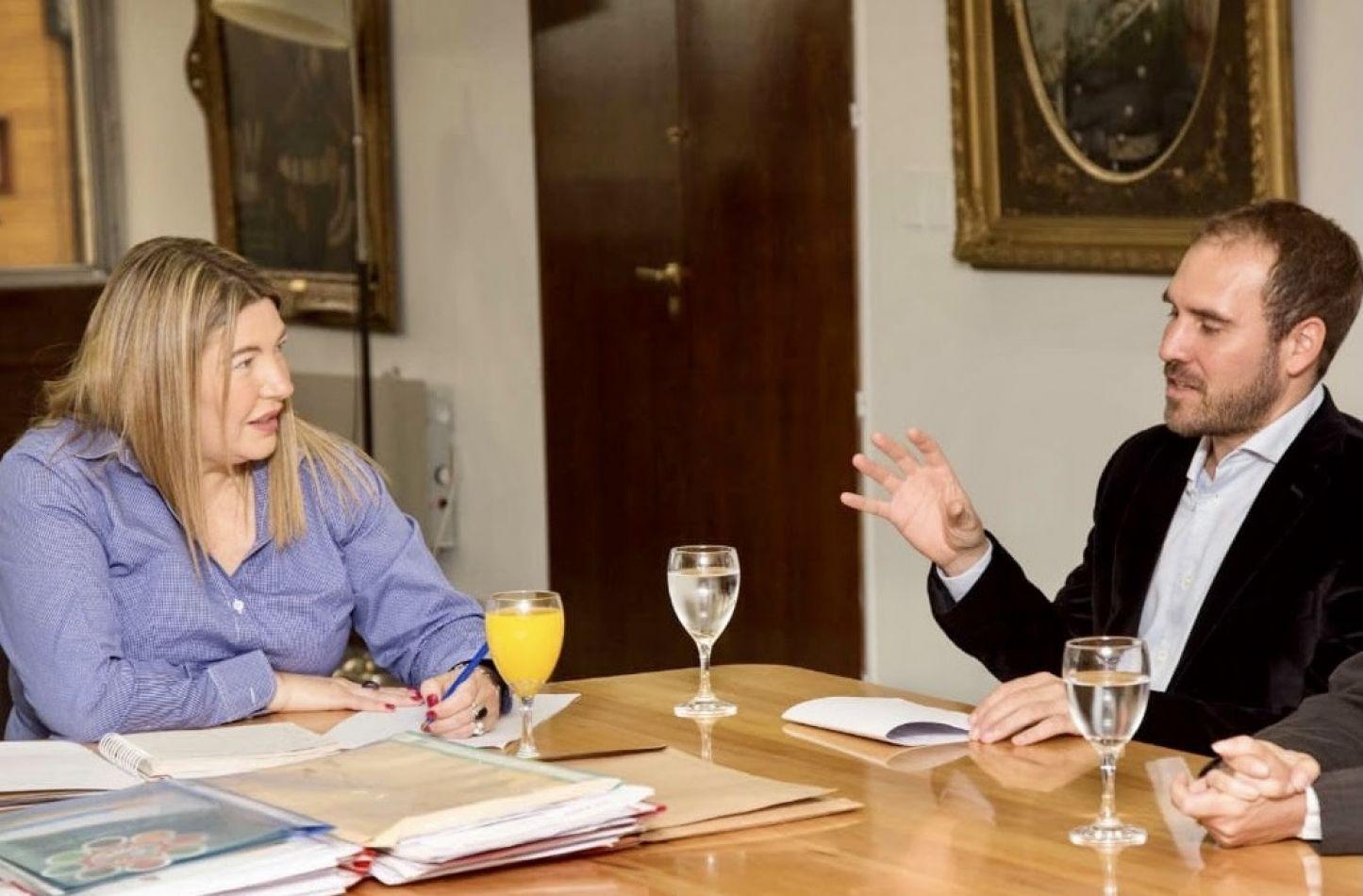 Bertone destacó el aumento de fondos coparticipables a la provincia