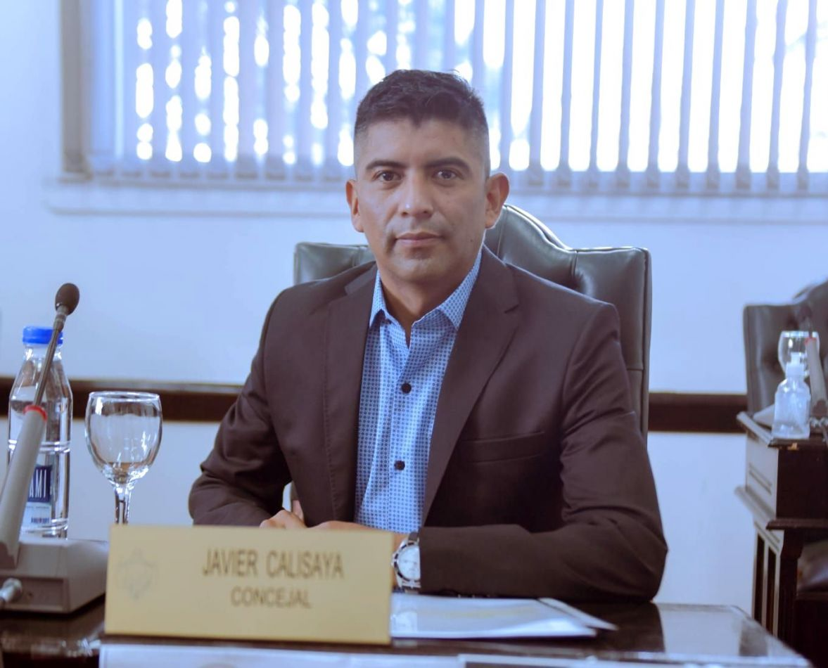 Concejal de Nuevo Encuentro en Bloque Forja Todos, Javier Calisaya.