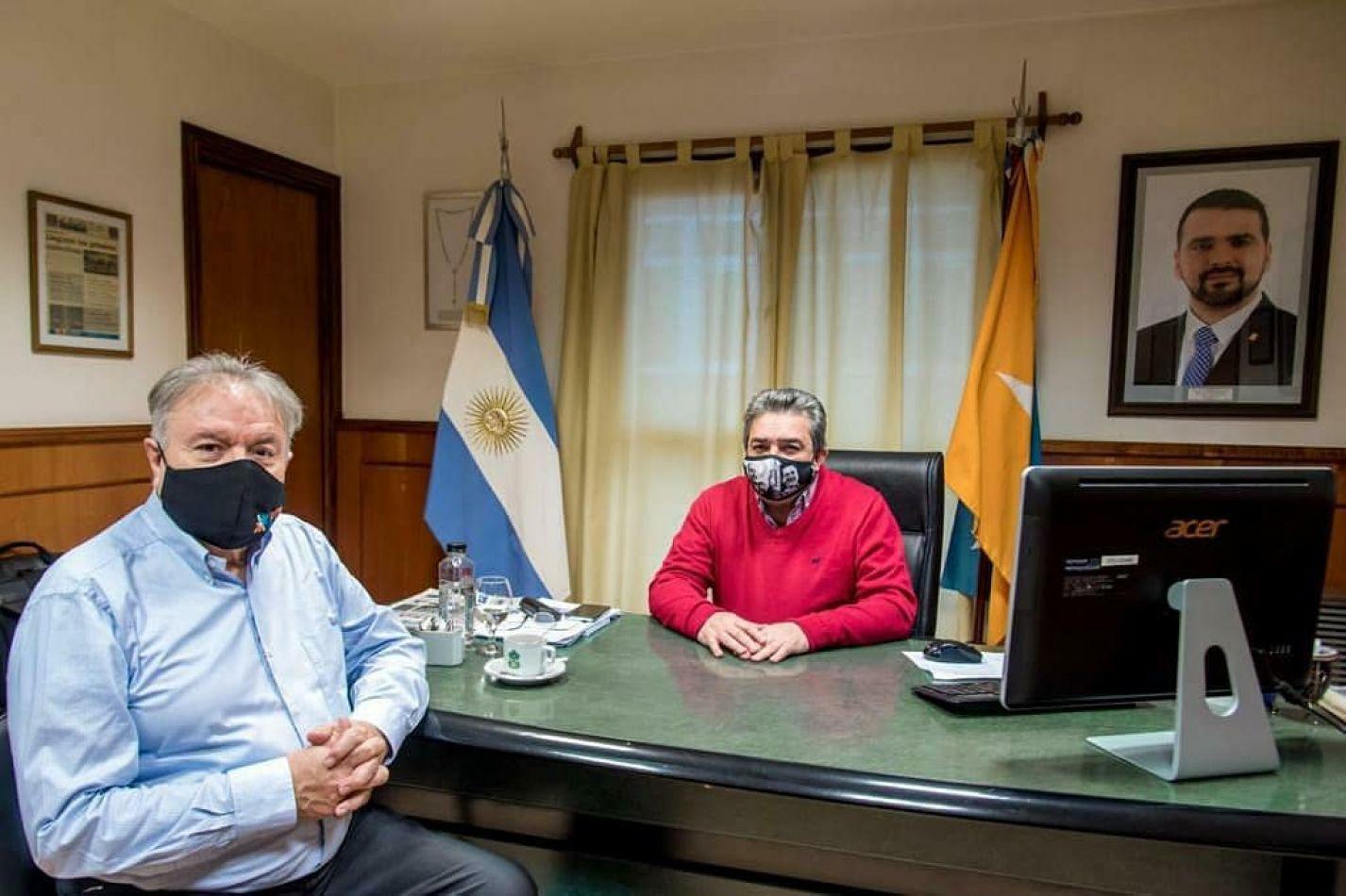 Becerra y Ferreyra ratificaron apertura de Vuoto para la unidad del PJ fueguino