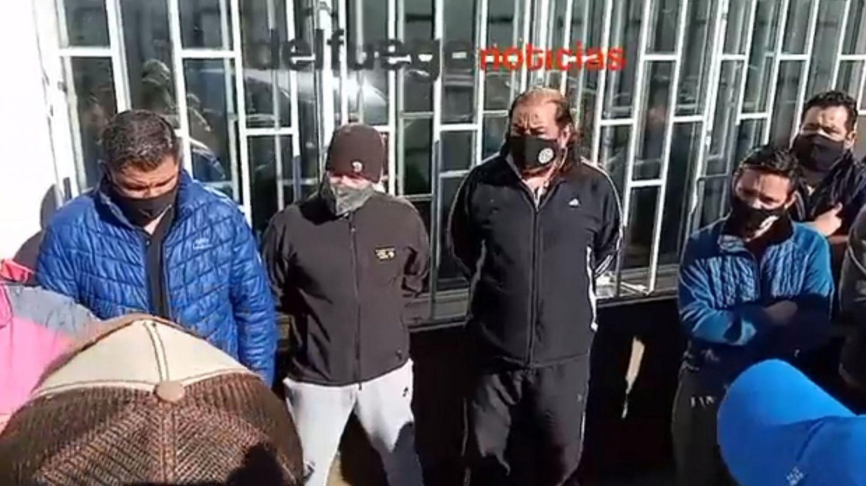 Trabajadores metalúrgicos protestaron en la puerta del gremio por disconformidad en el acuerdo salarial