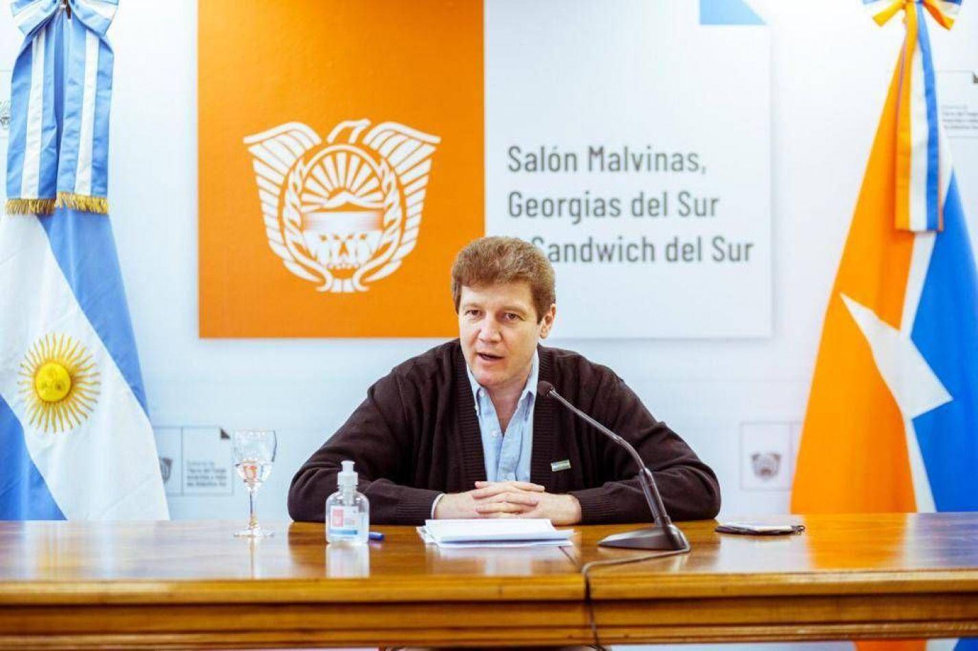 Gustavo Melella, gobernador de Tierra del Fuego.