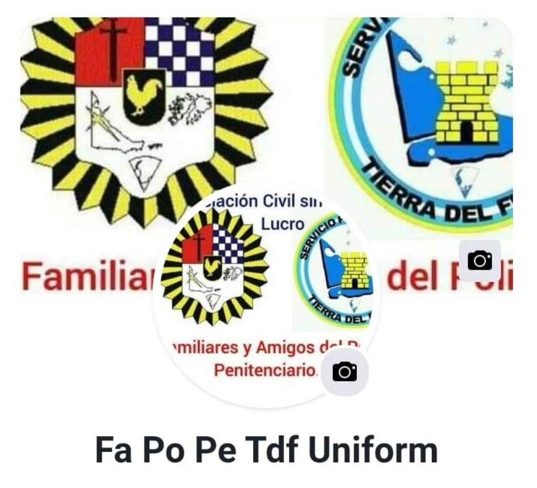 """La asociación ya tiene un lugar en Facebook. Figura como """"Fa Po Pe Tdf Uniform""""."""