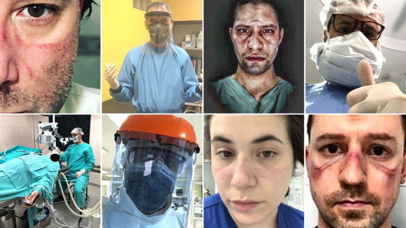 El personal médico reaccionó al mensaje del presidente Alberto Fernández